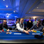Heads-up play between Laurent Polito and Alex Bilokur