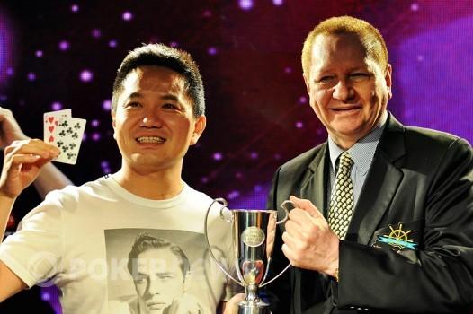 澳门豪客扑克慈善挑战赛冠军Stanly Choi