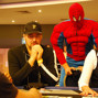 Phil Hellmuth & Spider-Man