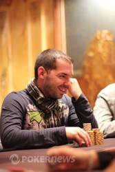 Chip leader Yannick Bonnet