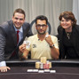 Antonio Esfandiari poses with Jack Effel and Barriere's Director Lucy Denos