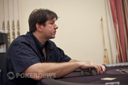 David Benyamine is one of the chip leaders