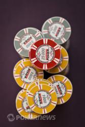 Red 25k chips