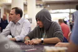 Emil Patel yesterday in the Main Event