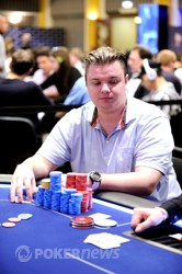 Inge Forsmo - chip leader