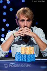 Ludovic Lacay Sits Second in Chips
