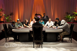 The WSOPE Main Event Final Table