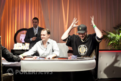 Phil Hellmuth can't believe the Sergii's hand