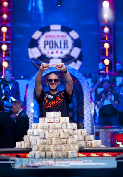 2012 WSOP Main Event Champion Greg Merson