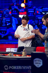 Steve Gee is eliminated in 9th place