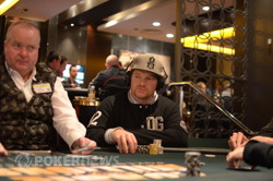 Chip leader Paul Hockin (Photo Heath Chick, PokerAsiaPacific)