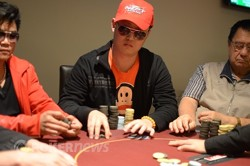 ANZPT Day 1c Chip Leader, Xiadong Xia