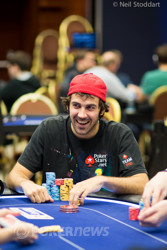 Jason Mercier (Day 2) is back in the game