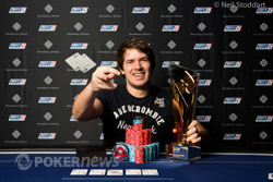 Marvin Rettenmaier wins the €10,000 High Roller at EPT Prague.