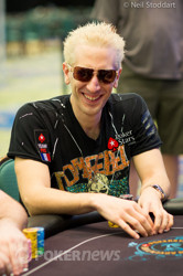 "Bertrand ""ElkY"" Grospellier (Super High Roller) is eliminated"