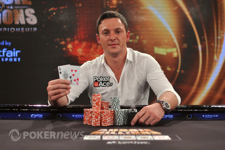 Sam Trickett, Winner of the LK Jewellery $250,000 Challenge