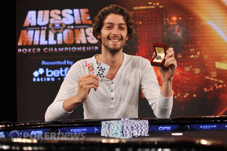 Igor Kurganov, Winner of the 2013 Aussie Millions $25,000 Challenge!