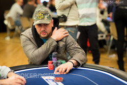 Michael Mizrachi - Day 1b Chip Leader