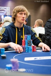 Aku Joentausta - Day 2 chip leader