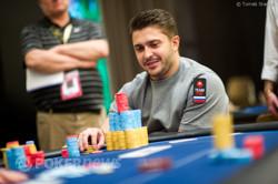 Max Lykov - Chip Leader