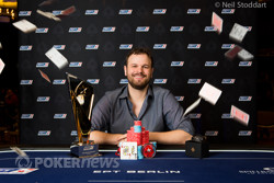 Griffin Benger wins the EPT High Roller