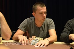 ANZPT Sydney Day 2 Chip Leader, Dejan Divkovic
