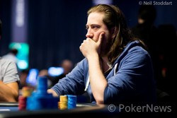 Steve O'Dwyer - Chip leader