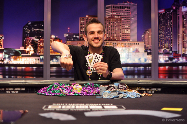 Jonathan Hilton - Winner of the 2013 Southern Comfort 100 Proof World Series of Poker National Championship