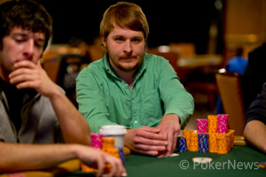Rafal Michalowski - Chip leader