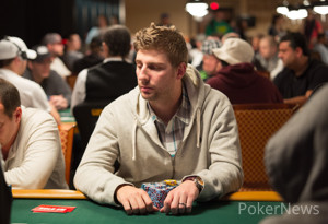Jon Seaman has the biggest chip stack heading into Day 2.