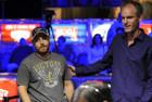 Lev Rofman being congratulated by Allen Cunningham