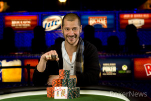 Athanasios Polychronopoulos, Winner of Event #17 ($1,500 No-Limit Hold'em)