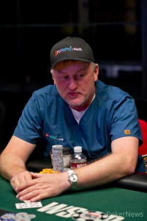 Chip Leader Frank Kassela