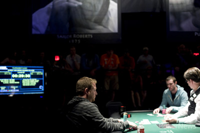 Danny Fuhs and Christopher George  heads up