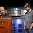 Nolan Dalla congratulates Danny Fuhs, winner of Event #25: $5,000 Omaha Hi-Low 8-or-Better