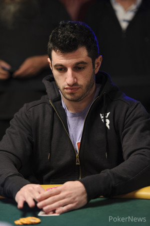 Phil Galfond Pondering His Next Move Here on Day 2