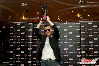 2013 APPT Macau Main Event Champion, Alexandre Chieng