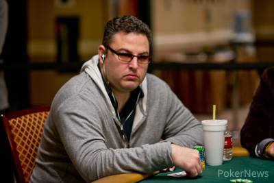 David Paredes finished an agonizing second at his table.
