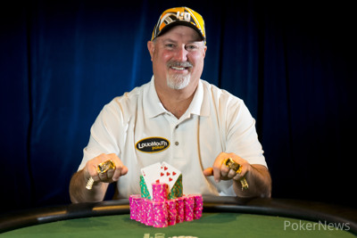WSOP Event 29 gold bracelet winner Tom Schneider