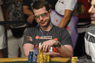 Jonathan Little is the Wire-to-Wire Chip Leader After Two Days of Play