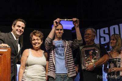Jeff Madsen is seeking his second PLO bracelet this week after winning Event #35: $3,000 Pot-Limit Omaha last night