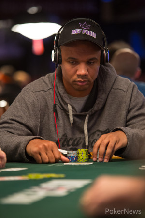 Phil Ivey Plays in Event #39