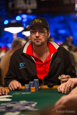 Phil Hellmuth - Eliminated