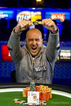 2013 WSOP Event 38 Gold Bracelet Winner Justin Olive