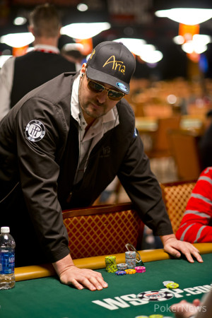 Phil Hellmuth (Seen Here in an Earlier Event) Has Failed to Gain Any Momentum Thus Far