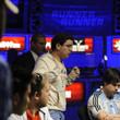 Joao Dorneles Neto reacts to the board