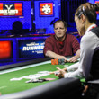 Allan Vrooman is eliminated in 3rd place