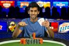 Sandeep Pulusani Wins Event #44: $3,000 No-Limit Hold'em!