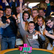 2013 WSOP EVent 46 Gold Bracelet Winner Vladimir Shchmelev and friends