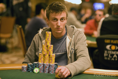 Nick Schwarmann is the Day 1 Chip Leader Here at Event #38 ($2,500 No-Limit Hold'em Four-Handed)